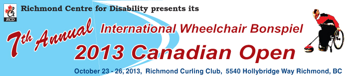 6th Annual International Wheelchair Curling Bonspiel - 2012 Canadian Open