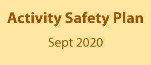 Safety plan for resuming classroom activity in September 2020 at RCD
